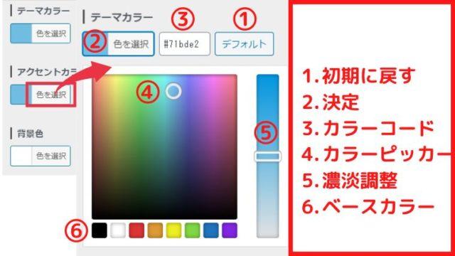 「JIN」カスタマイズ方法:カラー設定