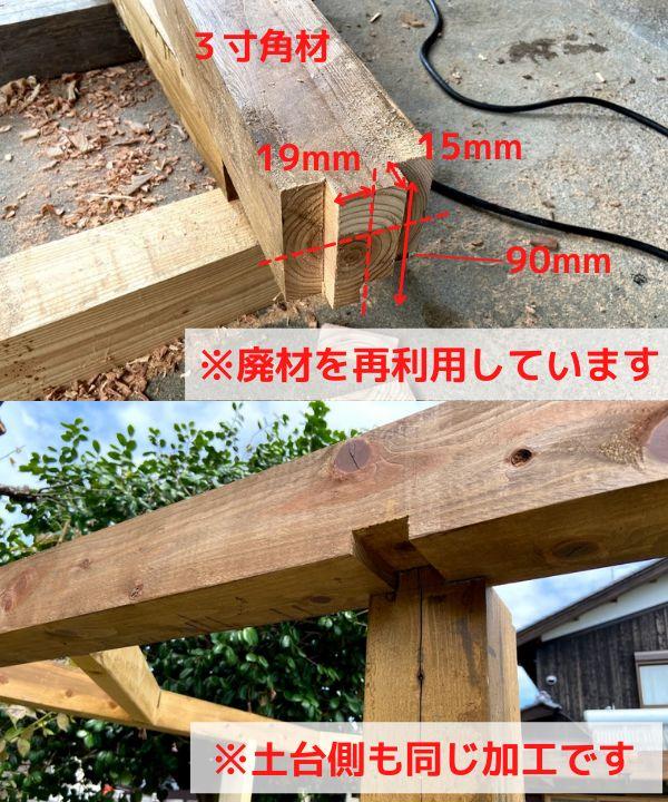 DIYで建ててやる!鶏小屋の作り方<棟上げ編>